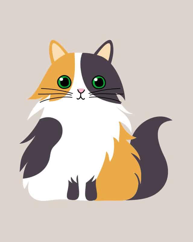 Gambar Kucing Kartun Lucu godean.web.id
