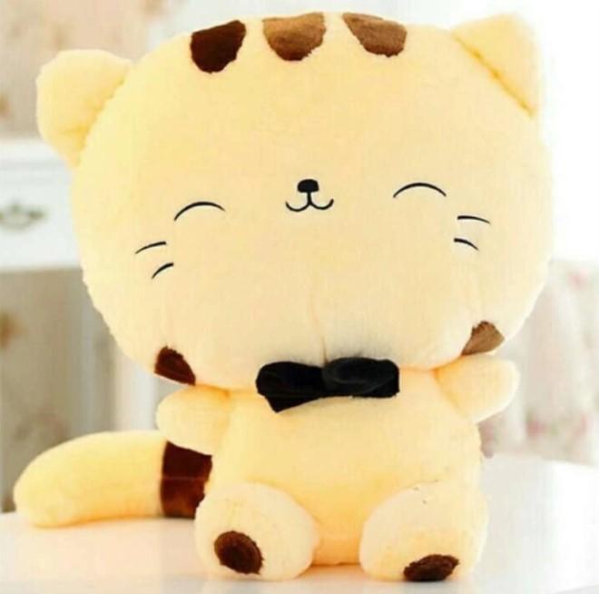 Boneka kucing Arimbi