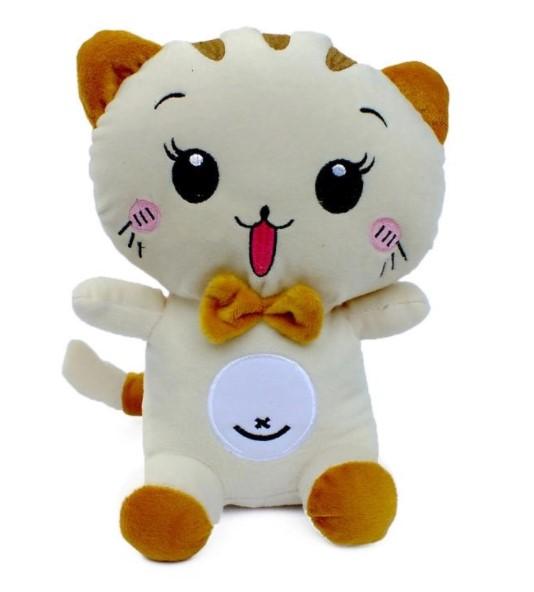 Boneka kucing ceria