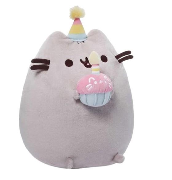 Boneka kucing Gund pusheen birthday