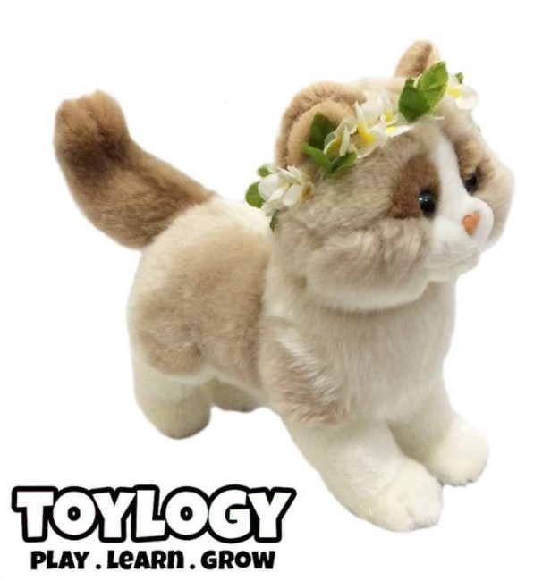 Boneka kucing Persia Toylogy
