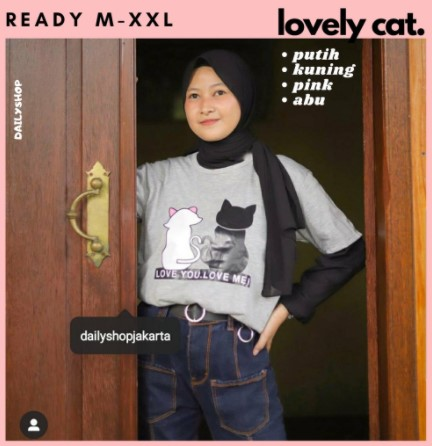 Kaos lovely cat