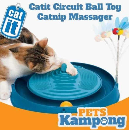 Catnip circuit ball