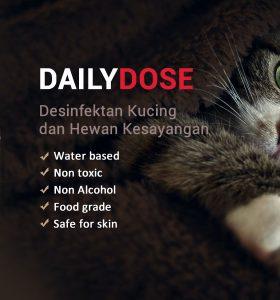 Daily Dose desinfektan kucing dan pet